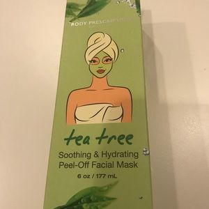 Tea tree soothing & hydrating peel off facial mask